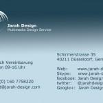 Visitenkarte-jarah-design